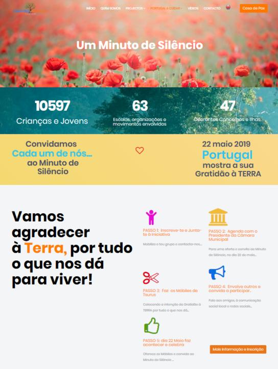 22 Maio 2019 - Portugal mostra a sua Gratidão à TERRA! | convite às escolas