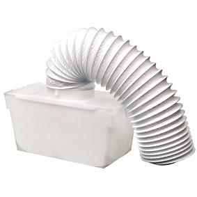 Caixa condensadora para máquina de secar roupa por exaustão