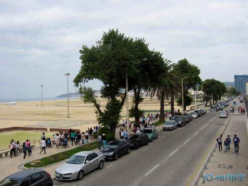 """Caminhada Solidária """"Coração Saudável, Coração Solidário"""" na Figueira da Foz - Avenida 25 de Abril junto da praia [en] Solidarity walk in Figueira da Foz Portugal"""