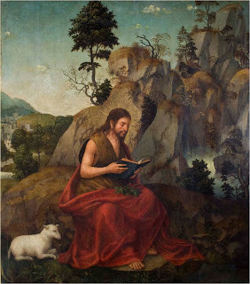S. João Baptista no Deserto, Mestre da Lourinhã.