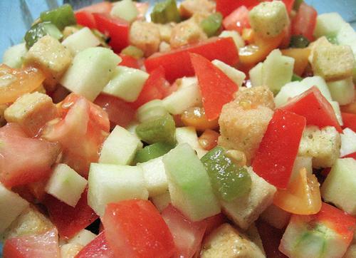 Salada de Cores de Verão