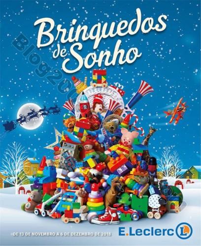 Antevisão Folheto E-LECLERC Brinquedos natal prom