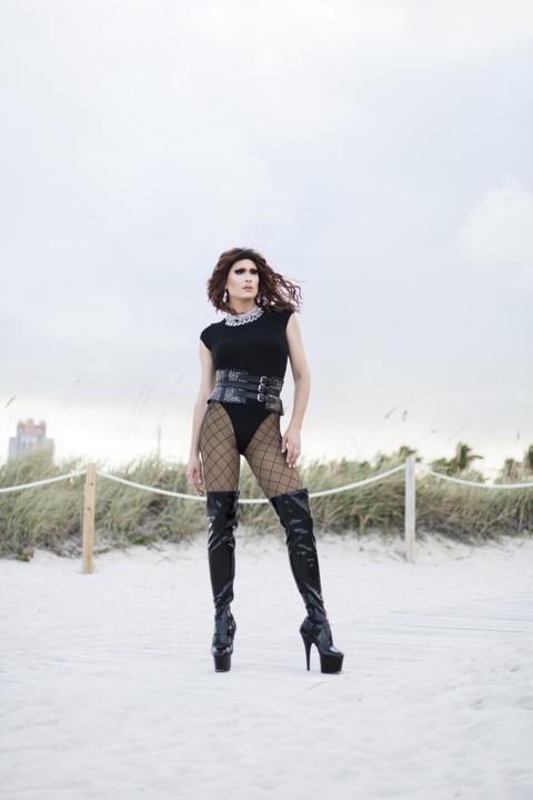 Miss Moço, criadora e apresentadora do concurso