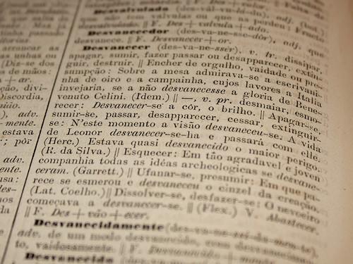 Desvanecer, v. tr. e pr. (Aulete, 1881)
