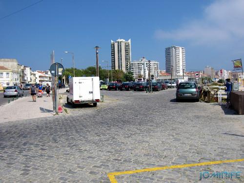 Figueira da Foz: Estacionamento de Carros no Parque da Praia de Buarcos é pago todos os dias no verão (1) [en] Car Park in the park of the beach in Buarcos is paid every day in Figueira da Foz, Portugal