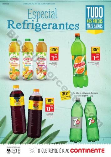 Antevisão Folheto CONTINENTE Especial Refrigerant