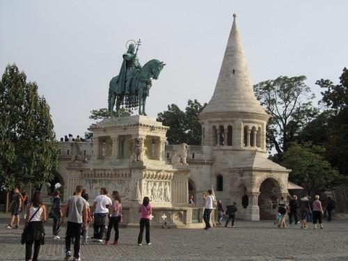 Estátua de Santo Estevão - Budapeste