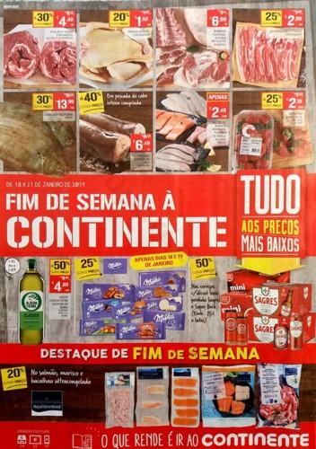 folheto fim de semana continente 18 a 21 janeiro_1