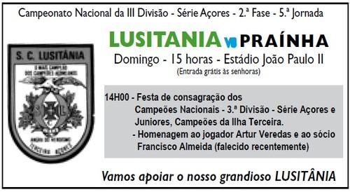 Luistânia, já aclamado vencedor da Série Açores...