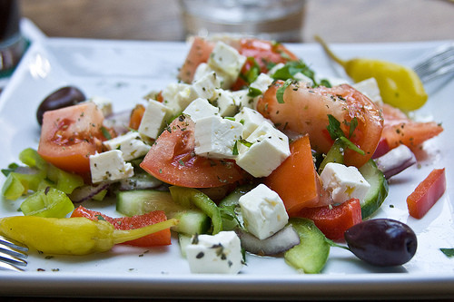 Salada grega