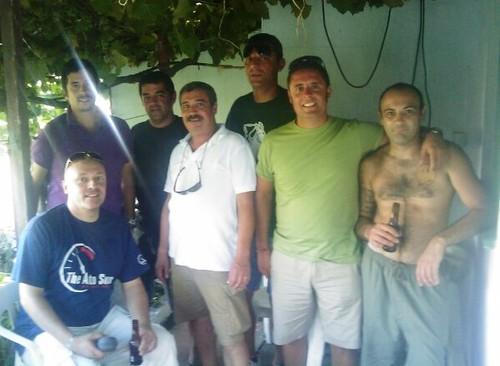 Na casa de um mordomo para 2012, o Paulinho...