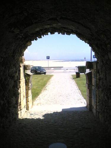 Buarcos: Túnel de acesso à praia