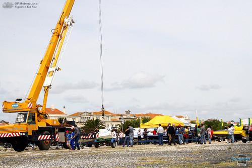 GP Motonautica (067) Grua T850 - Barcos em fila