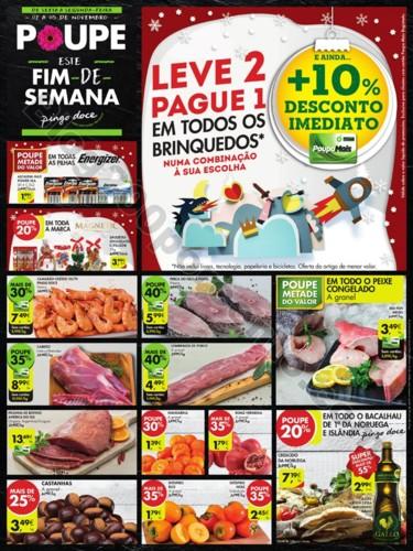 Especial Fim de semana PINGO DOCE 2 a 5 novembro p