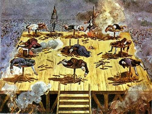 Resultado de imagem para execução dos távoras