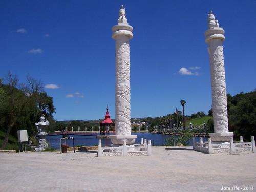 Jardim Buddha Eden - Lago