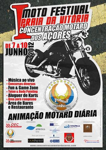 1ª Concentração Motard dos Açores a postos...