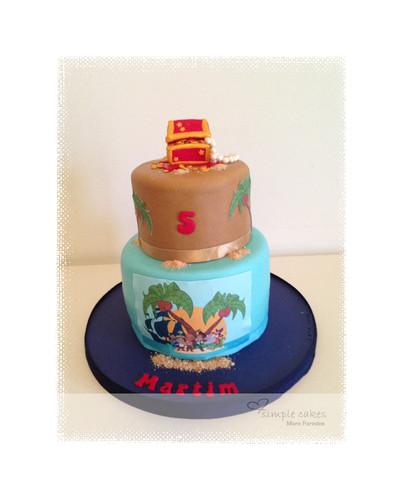 Cake Design Jake E Os Piratas : Jake e os piratas da Terra do Nunca... - simple cakes