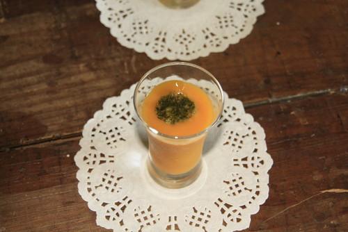 Creme de abóbora e cenoura