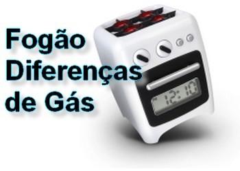 Diferenças entre fogões a gás natural e gás de bilha