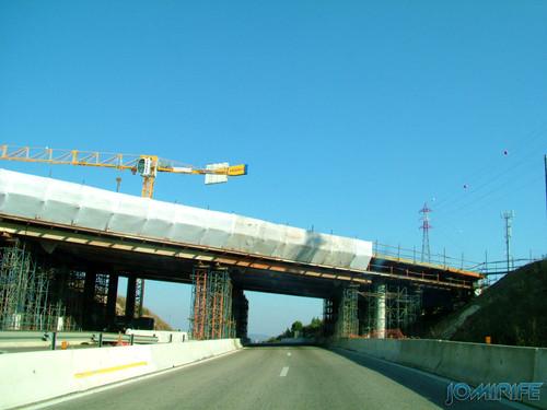 Construção da A17 no cruzamento com a A14 em 2007 [en] Construction of the highway A17 at the junction with the highway A14 in 2007