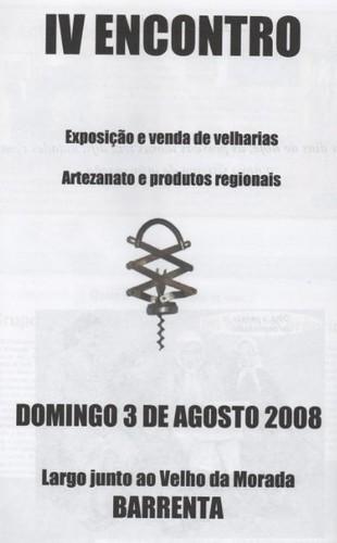 velharias barrenta 2008