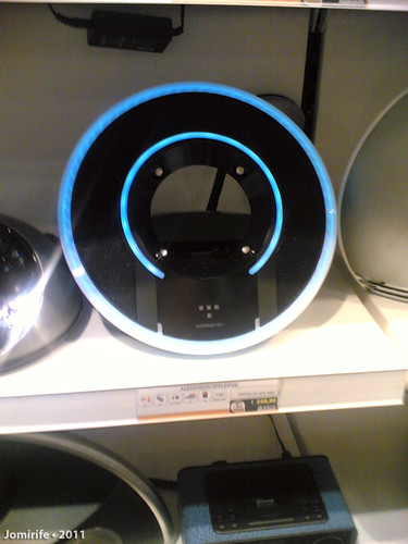 Desk Mp3 player like the Tron ring