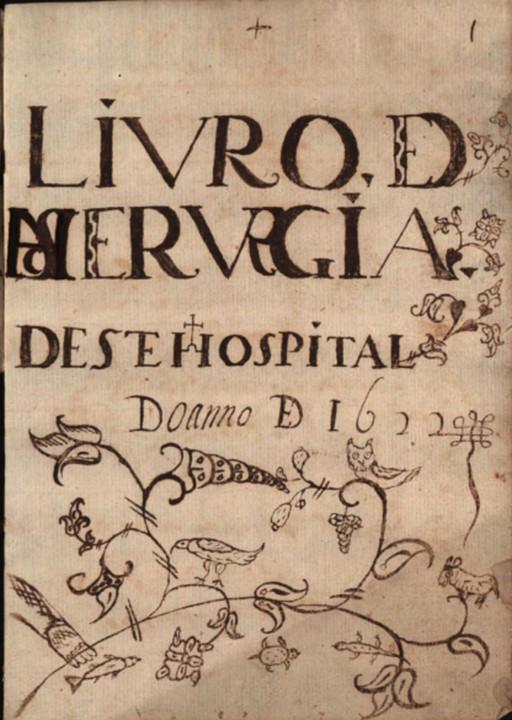 Hospital Real de Coimbra Livro de Receituário Mé