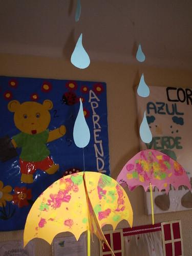 ideias para o outono jardim de infancia : ideias para o outono jardim de infancia:Mobile de inverno – Pré-escolar de Picão