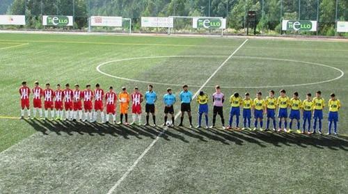 Pampilhosense - Nogueirense 3ªJ Juvenis 29-10-16.