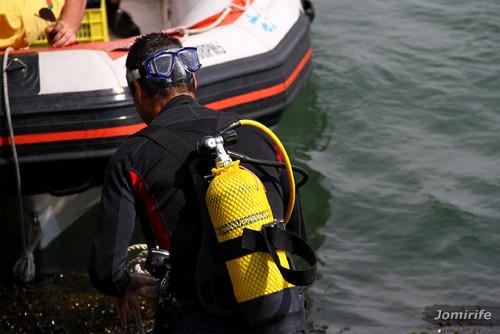 Mergulhador na Figueira da Foz (2)