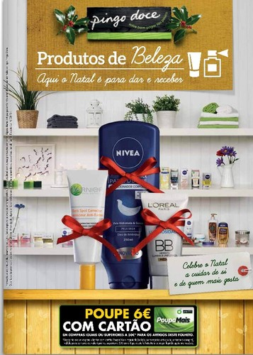 Novo Folheto | PINGO DOCE | Natal produtos Beleza