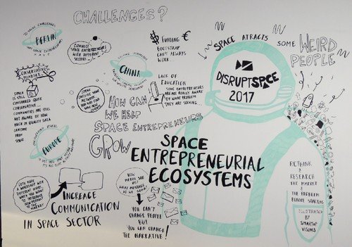 Disrupt Space 2017 - Berlin - Space entrepreneuria