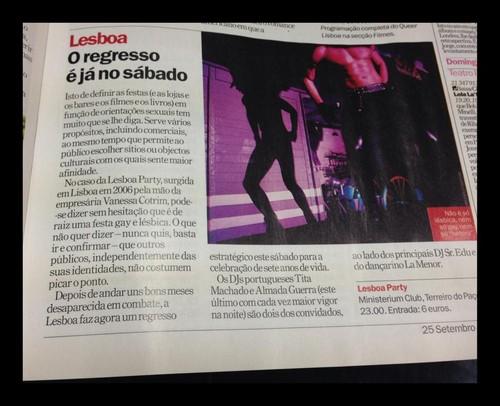 Lesboa Party [7º Aniversário] na TimeOut Lisboa