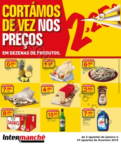 Antevisão Folheto INTERMARCHÉ Baixa Preços prom