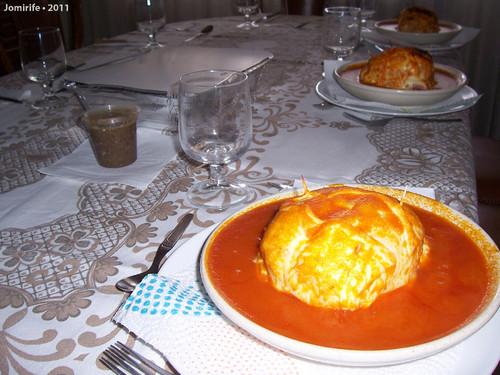 Francesinha em Bragança - Pronta na mesa