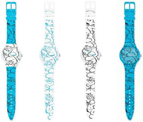 Relógios dos smurffs