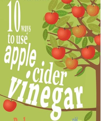 10 usos para o vinagre de sidra de maçã