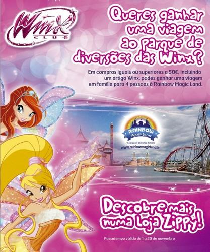 Passatempo | ZIPPY | Parque de diversões Winx