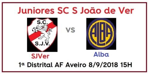 Juniores SJVer vs Alba