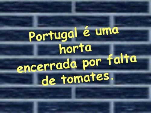 Portugal é uma horta encerrada por falta de tomates
