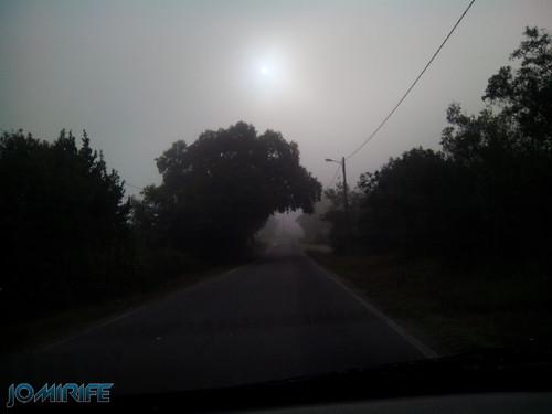 Estrada com nevoeiro [en] Road with fog