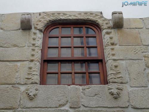Viseu (8) Casa com Janela Manuelina [en] Viseu - House with Manueline Window