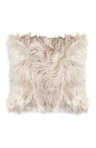 kimball-3495503-shaggy fur cushion cream, grade mi
