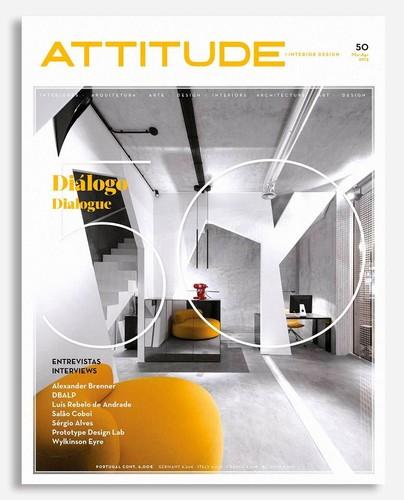 Foi publicada esta semana a edio n 50 da revista Attitude. A Attitude  Interior Design  uma revista portuguesa sobre Interiores, Arquitectura,  Design, ...