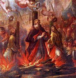 Martírio de Frutuoso, Eulógio e Augúrio. Séc.