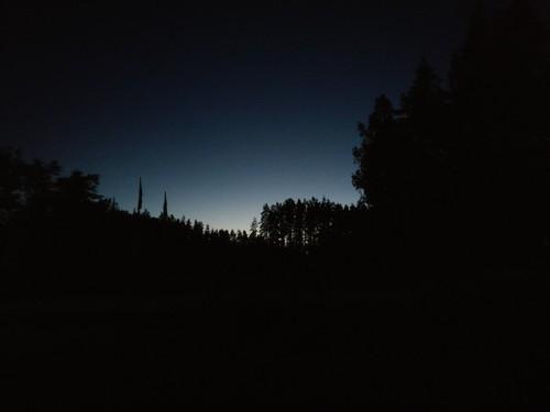 """As """"noites"""" no norte da Letónia"""