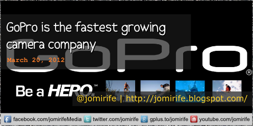 Blog: GoPro is the fastest growing camera company