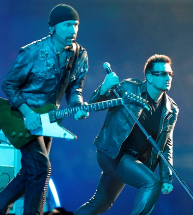 The Edge e Bono Foto: EPA/Lusa