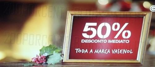 50% de desconto direto | CONTINENTE | Vasenol e Detergentes chão